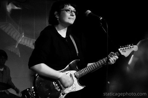 Rose Melberg / Go Sailor at the Echo March 28, 2010 © 2010 Michael Kang
