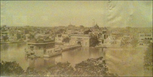 Photo of Golden Temple from 1859