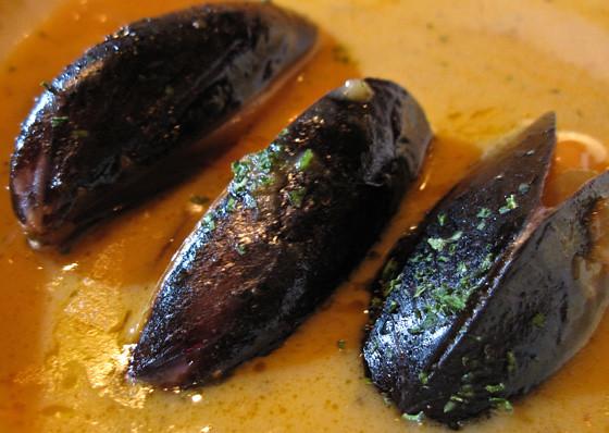 Mussels at Sandbar Restaurant