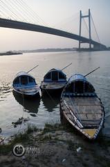 (Kaushik Bishnu) Tags: boat kolkata 2ndhooglybridge vidyasagarsetu hooglyriver