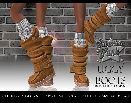 UGGY BOOTS BROWN