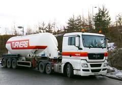 MAN-TURNERS(Soham)LTD. Larkhall S.Lanarkshire Scotland. (scotrailm 63A) Tags: trucks tankers lorries