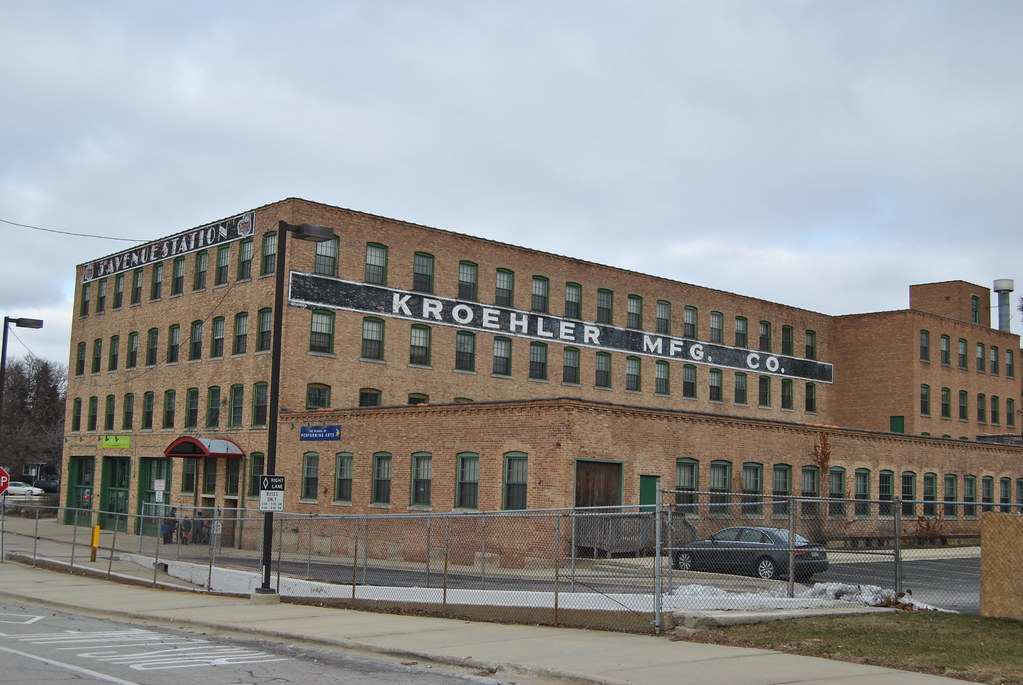 Kroehler Manufacturing Co. Naperville Illinois