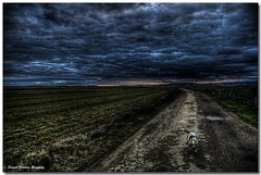Somewhere only where i know (sergio.pereira.gonzalez) Tags: photoshop landscape spain champs paisaje espana campo paysage espagne hdr villar castillayleon photomatix tonemapping canon400d sergiopereiragonzalez