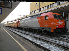 New entry in Arenaways (Luca Xavier Bozzo) Tags: torino different rail bombardier lingotto traxx e483007 arenaways