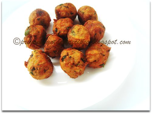 Mixed Veggies & Poha Crispy Balls