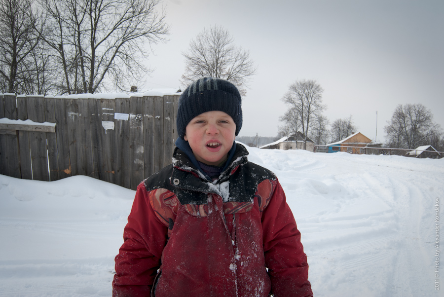 Portrait of a boy Nikolai Tikhonov 2011 © Photo by Alexander Kondakov