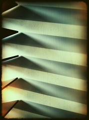 Soft steps (chrisgannon) Tags: shadow geometric soft blind steps shapes angles iphone linescurves iphoneography
