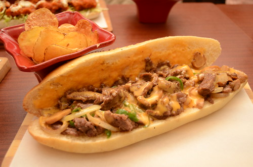 chuck's deli philly cheesesteak
