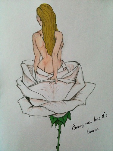 rose Just a rose and bannar sketch obviously Photo by pandouken
