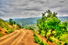 Village Road (zulkifaltin) Tags: kahramanmara bykimal trkolu ky village nature doa yol road patika toprak earth tepe da hdr