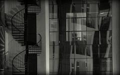 (Prajna Nairobi) Tags: abstracts urbanlife reflections acomplexworld dreamsanddelusions aladdertosuccess blackandwhiteimages nightimages shadows