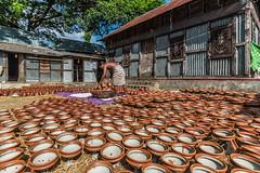 Potter in work (Zakir Hossain Sohel) Tags: potter bangladeshipotterpotterwork clay asianworker labor hardworker beautifulbangladesh poorpeople bangladesh munshiganj