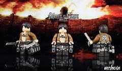 Eren Jaeger - Attack On Titan (McLovin1309) Tags: eren yaeger jaeger custom lego minifigure attack titan shingeki no kyojin