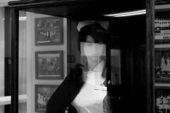 Nurse (Avard Woolaver) Tags: light blackandwhite bw canada reflection mannequin glass monochrome photography photo flickr novascotia display noiretblanc windsor nurse canondslr digitalimage hantscounty contemporarylandscape sociallandscape topf25faves avardwoolaver payzantmemorialhospital avardwoolaverphoto shoteatshot leefriedlanderinspiredby