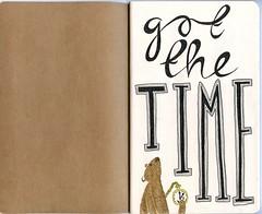 The Sketchbook Project 2011: Page 1 (Lauren Goode) Tags: bear house lauren art moleskine illustration pen project hand time drawing watch sketchbook font type marker coop illustrator peppiatt handdrawntype arthousecoop thesketchbookproject laurenpeppiatt