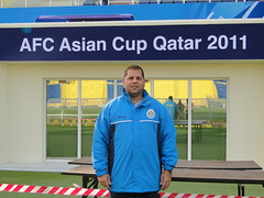 ASIAN CUP 2011 (Leonardo Vitorino) Tags: soccercoach algharafa asiancup2011 braziliancoach leonardovitorino