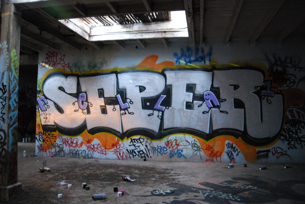 Seper Graffiti in San Francisco, California.
