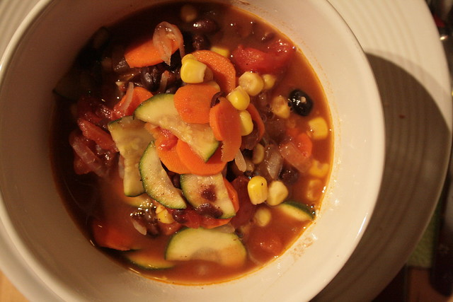 anna's vegetable chili