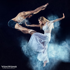 Rejection (Von Wong) Tags: beauty flow movement dancers dish dancing diypfav flourdancers