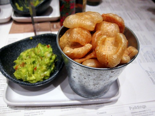 Scratchings & guacamole