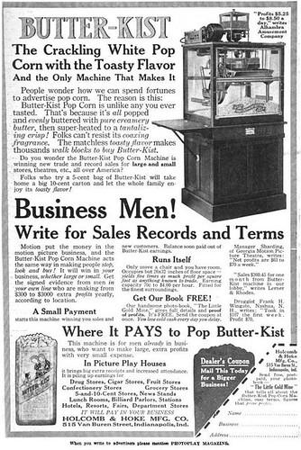 Early Films Popcorn Machine