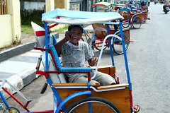 Rickshaw Makassar