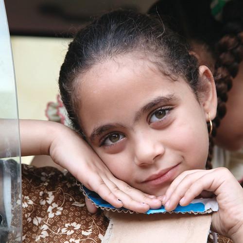 エジプト ルクソールの少女