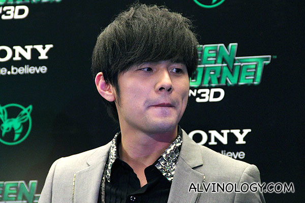 Close-up of Jay Chou