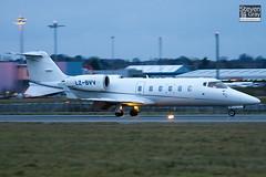 LZ-BVV - 60-203 - Air VB - Learjet 60 - Luton - 110127 - Steven Gray - IMG_8535
