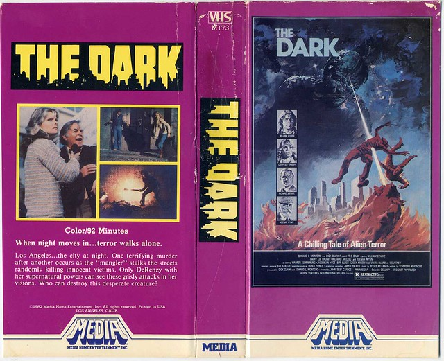 The Dark (VHS Box Art)