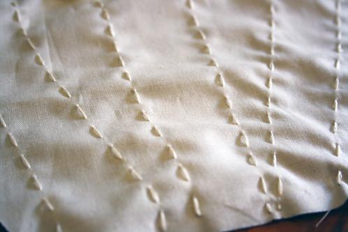 3 Back sewn