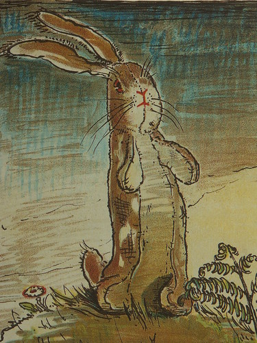 The Velveteen Rabbit cover artwork by Nicholson