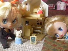 They love their new dollhouse