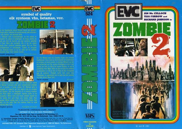 Zombie 2  (VHS Box Art)