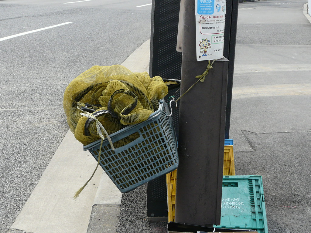 Streetside Rubbish Net Storage