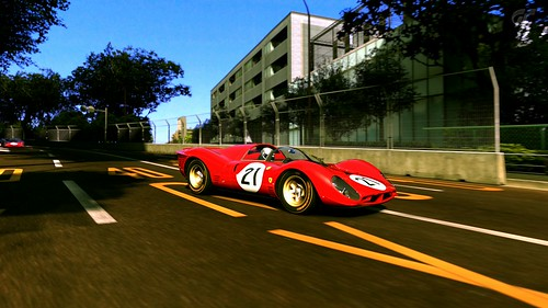 Ferrari 330 P4 Race car 1967