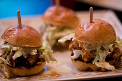 Killer B's BBQ - slider trio
