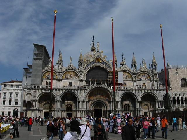 サン・マルコ大聖堂のフリー写真素材