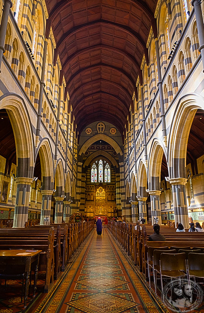 Inside St Paul's Anglican Cathedral
