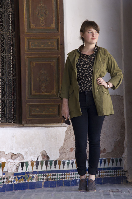 marrakech, morocco: 6eme fevrier