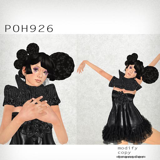 booN POH926 hair