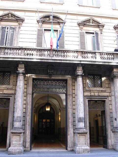 シチリア銀行のフリー写真素材