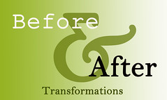 Before and After button copy