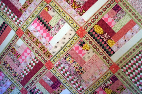 Pink Quilt - Detail