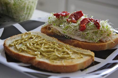 a new sandwich concoction!