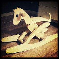 40/365 - My Son's Rocking Horse