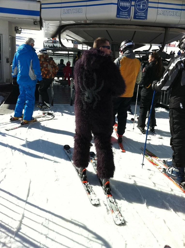 Yeti entdeckt - Ski-WM Tag 4