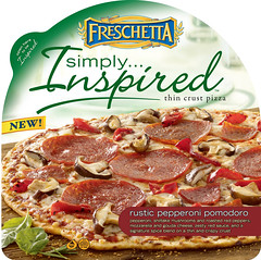 FRESCHETTA® Simply Inspired Rustic Pepperoni Pomodoro