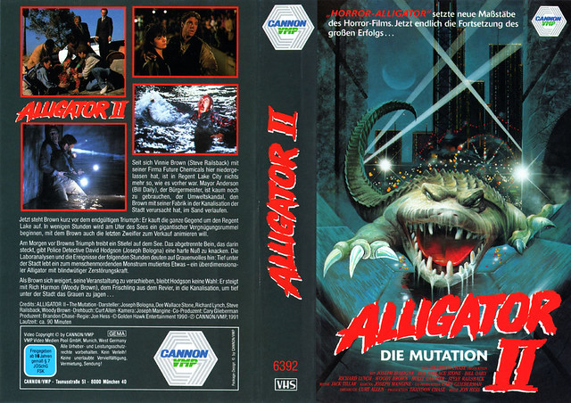 Alligator 2 (VHS Box Art)